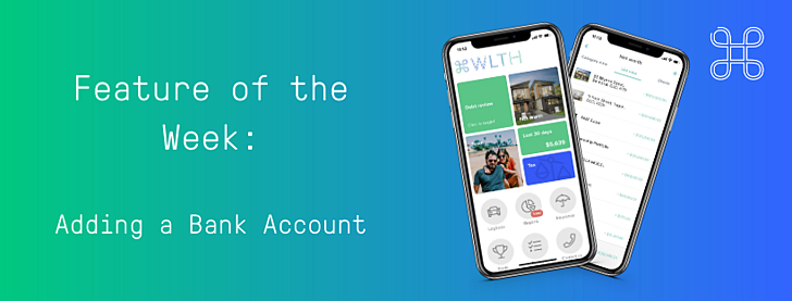 Feature of the Week_ Adding a Bank Account